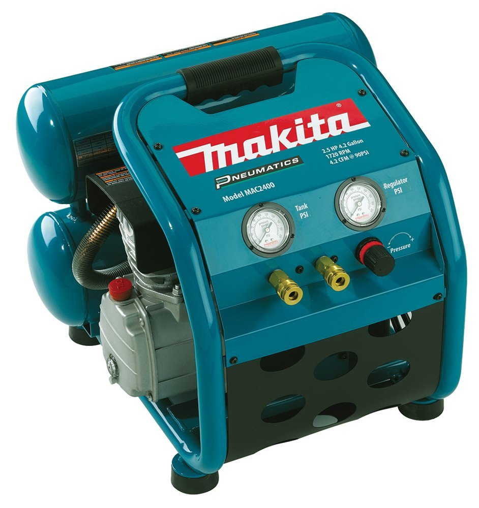 Makita Big Bore Air Compressor – Available in 2 HP, 2.5 HP, 3 HP and 5 HP