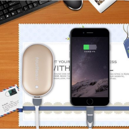 E-TECHING Hand Warmer & Power Bank