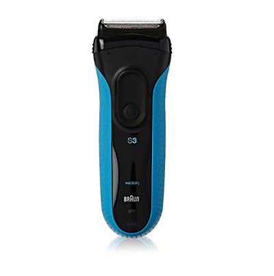 Braun Series 3 ProSkin Rechargeable Wet&Dry Cordless Electric Shaver for Men