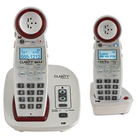 Clarity XLC3.4 Cordless Amplified Phone