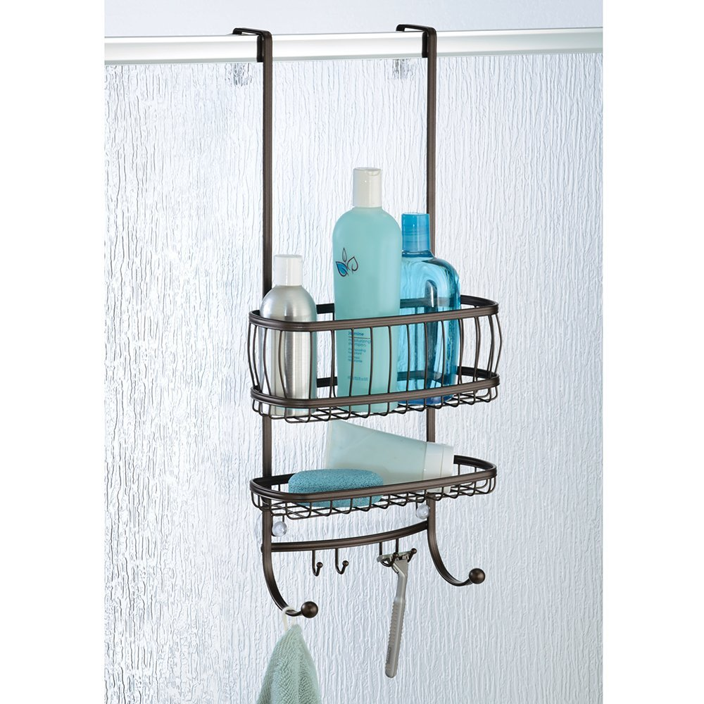 InterDesign York Over Door Shower Caddy