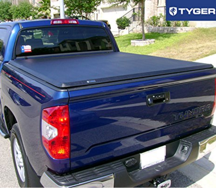 Tyger Auto Vinyl and Aluminum Bed Cover