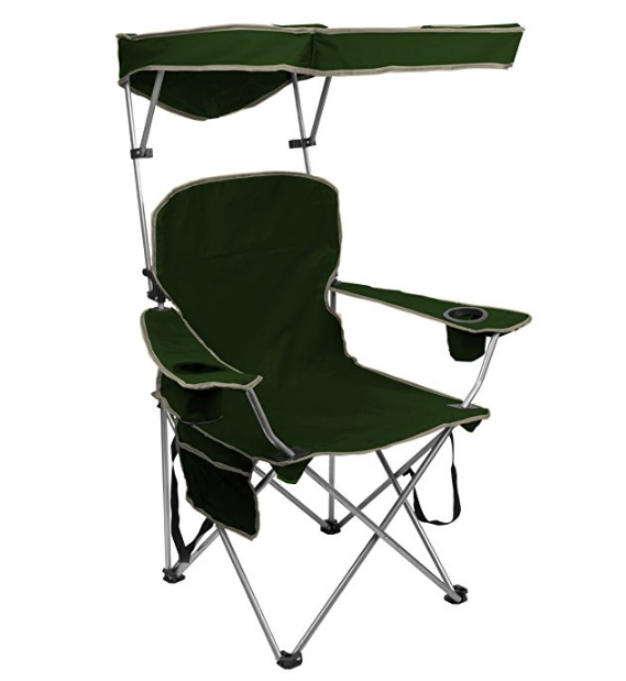 Quik Shade Canopy Folding Chair