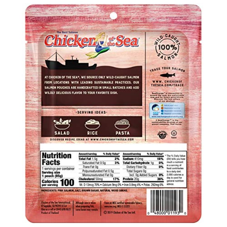 Chicken of the Sea® Smoked Salmon Pouches