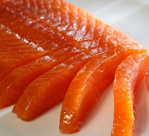 New York's Delicacy Cold Smoked Atlantic Salmon