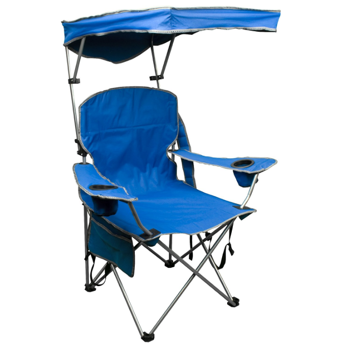 Quik Shade Canopy Folding Camp Chair