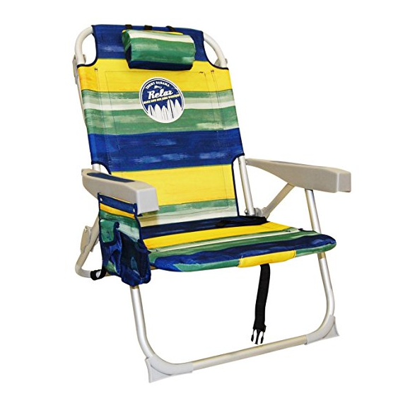 Tommy Bahama Deluxe Backpack Beach Chair