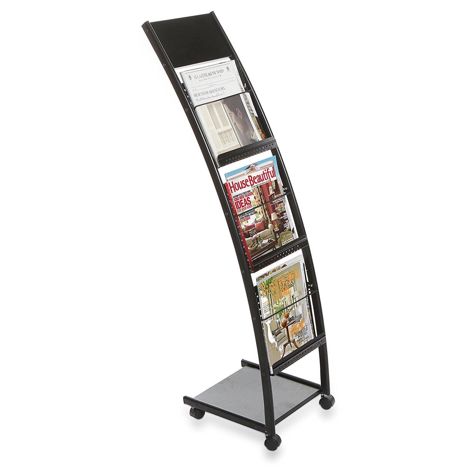 MyGift Rolling  Literature Display Stand