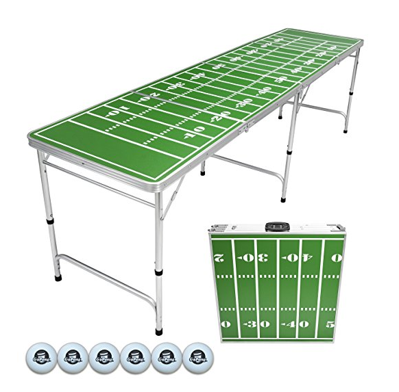 GoPong Portable Folding Beer Pong Table