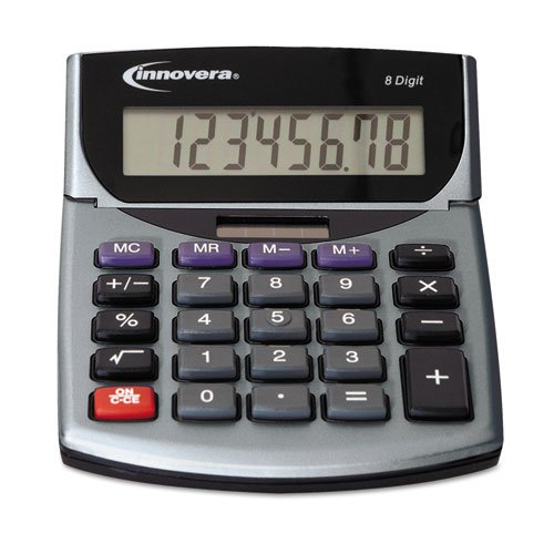 Innovera Portable Minidesk Calculator