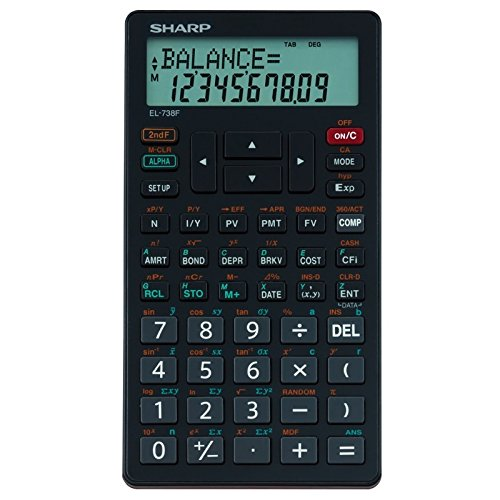 Sharp Financial Calculator