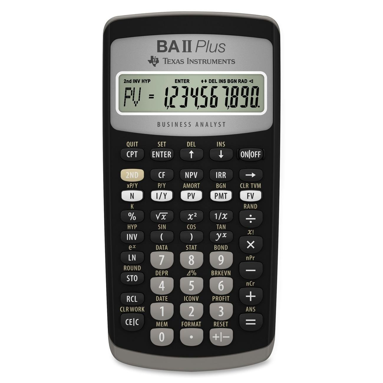 Texas Instruments BA II PLUS Calculator