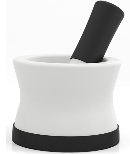 Cooler Kitchen EZ-Grip Mortar and Pestle