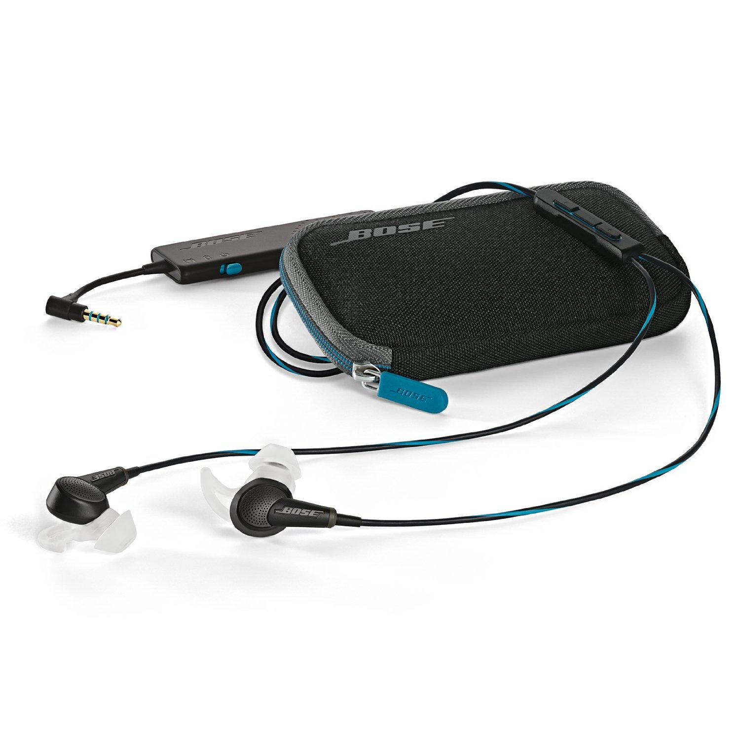 Bose QuietComfort® 20 In-Ear Wired Headphones – Earbuds for Apple, Samsung and Android™ devices
