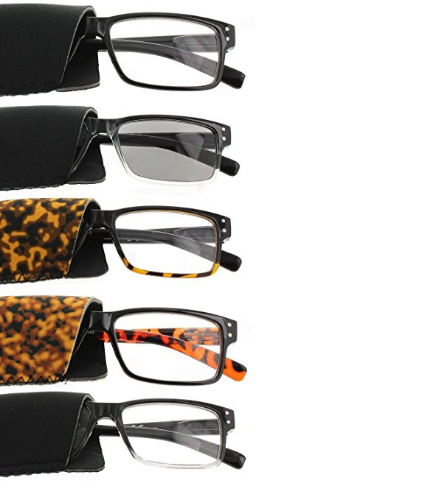 Fiore Wayfarer Reading Glasses – Available in 13 Magnifications & 3 Colors