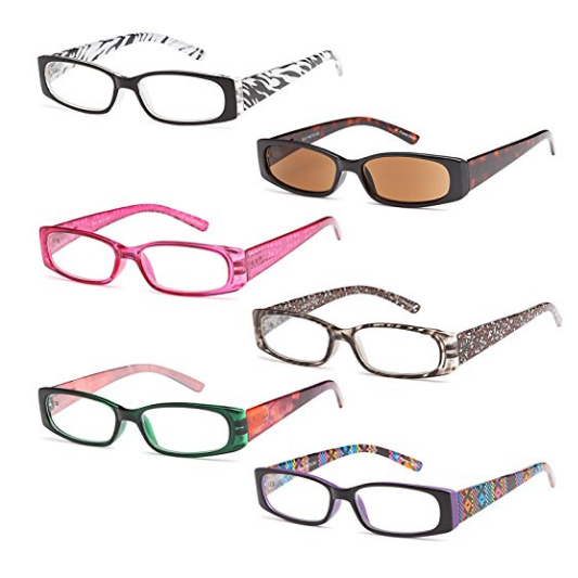 Gamma Ray Optics 6 Pack Ladies' Readers