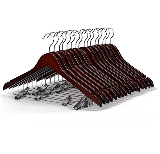 LOHAS Home Wooden Suit Hangers