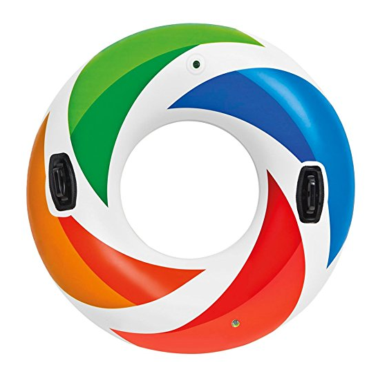Intex Recreation Color Whirl Air Tube