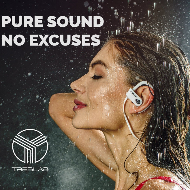 TREBLAB Wireless Bluetooth Earbuds
