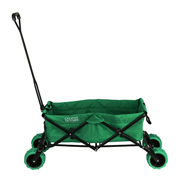 Creative Outdoor Folding Wagon with Canopy