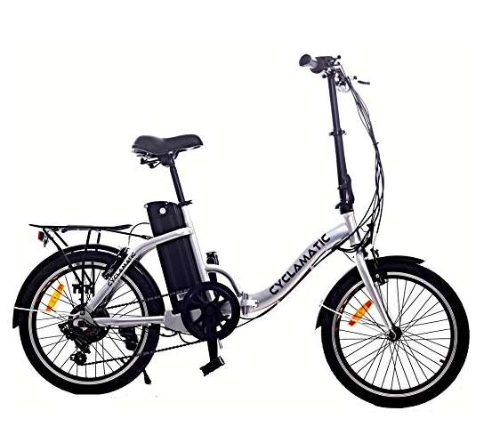 Cyclamatic Electric Folding Bike