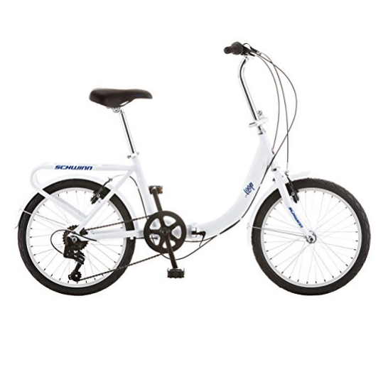 Schwinn 20-Inch Loop Folding Bike – Available in 3 Colors