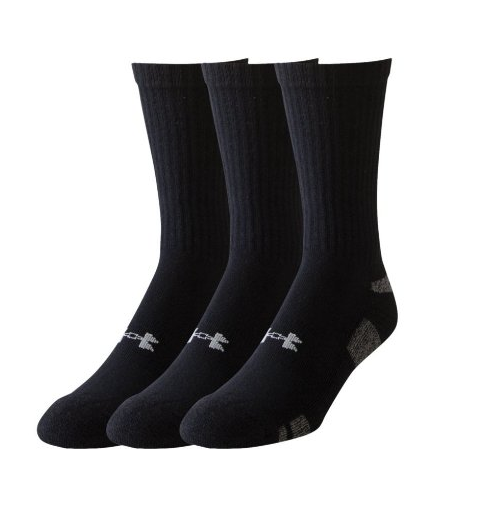 Under Armour 3 Pack HeatGear Socks