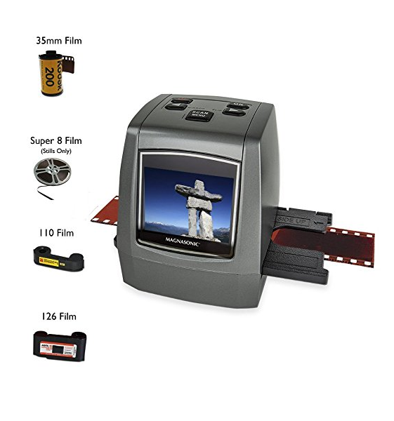 Magnasonic All-in-One 22MP Film Scanner