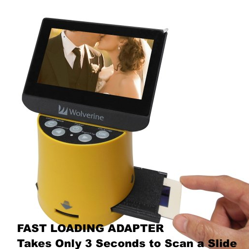 Wolverine Titan F2D Converter and Slide Scanner