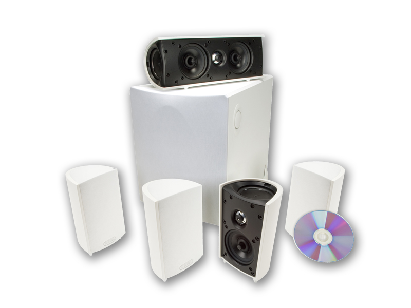 Definitive Technology ProCinema 600 System Six Piece 5.1 Channel Home Theater Speaker System