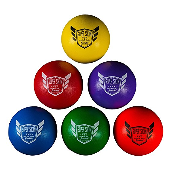 Franklin Sports SuperSkin Dodgeballs