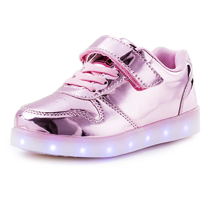 Affinest Kids LED Flashing Fashion Shoes