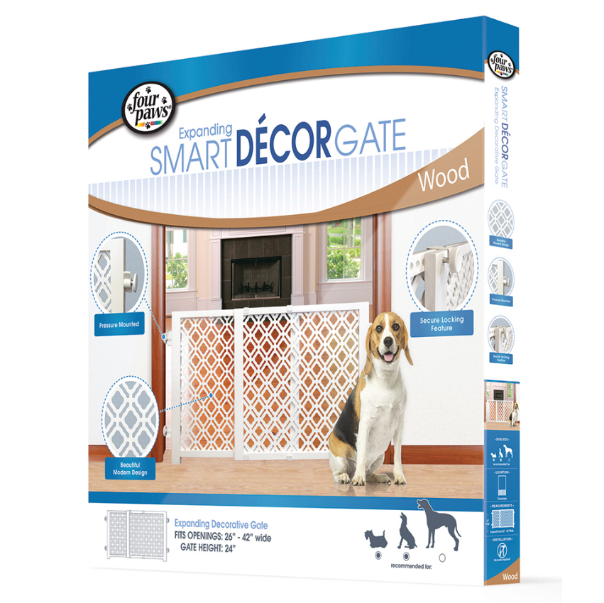 Four Paws Décor Expanding Gate