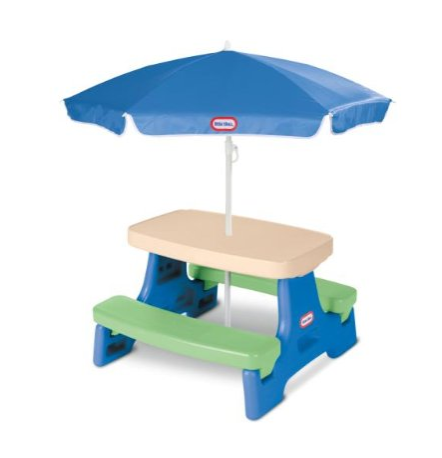 Little Tikes Easy Store™ Picnic Table