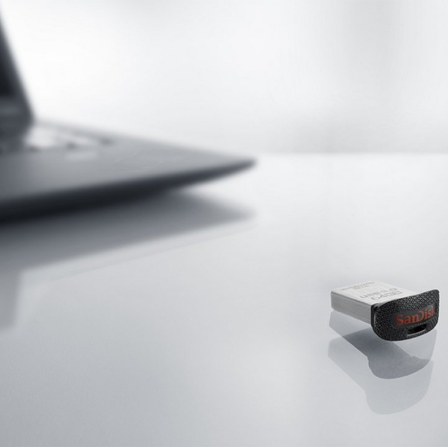 SanDisk Ultra Fit Mini Flash Drive