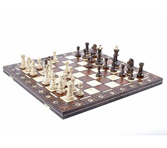 Weigel Wooden Chess Set