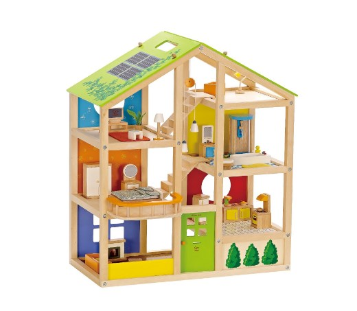 Hape Kid's Wooden Doll House