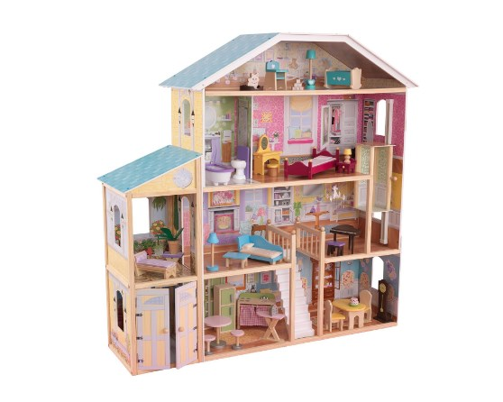 KidKraft Majestic Mansion Dollhouse with 8 Rooms