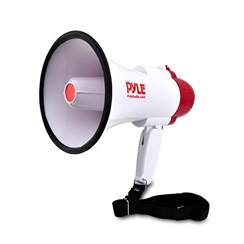 Pyle Megaphone PA Bullhorn with Siren