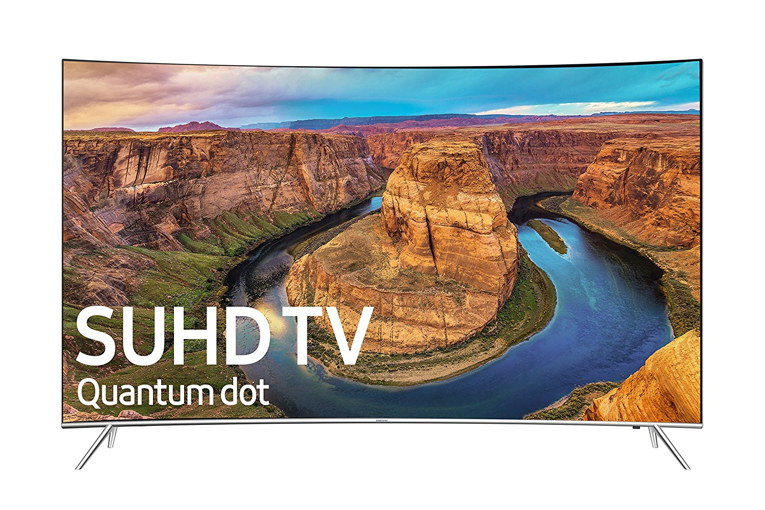 Samsung Curved 49-Inch 4K Ultra HD Smart LED TV (2016 Model) with Built-In Wi-Fi