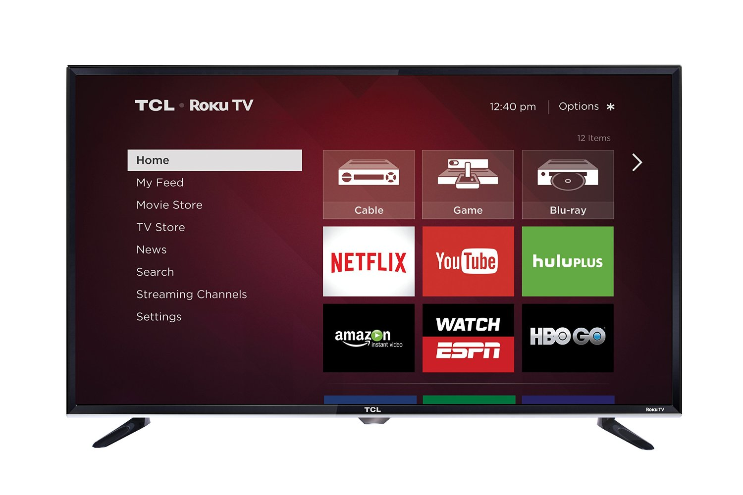 TCL Roku Curved 32-Inch TV Set