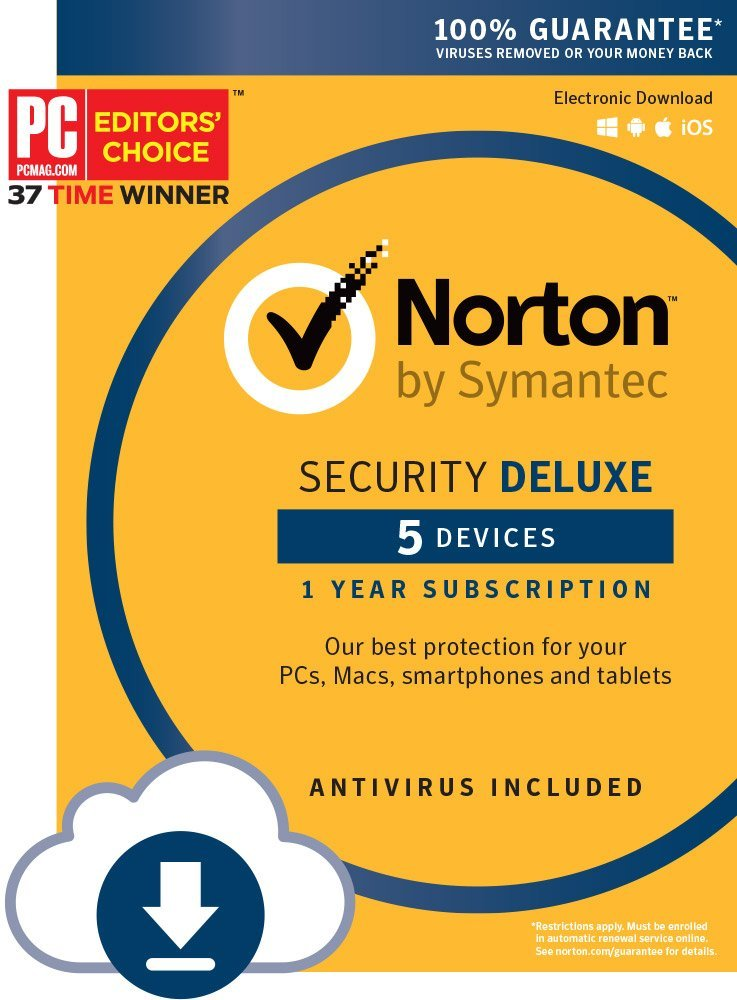 Symantec Security Deluxe Antivirus