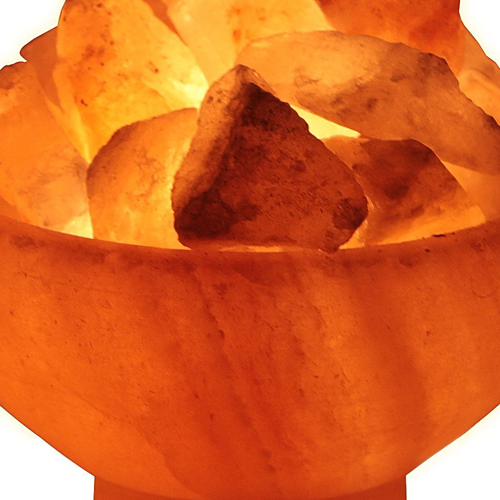 Crystal Allies Natural Himalayan Salt Lamp