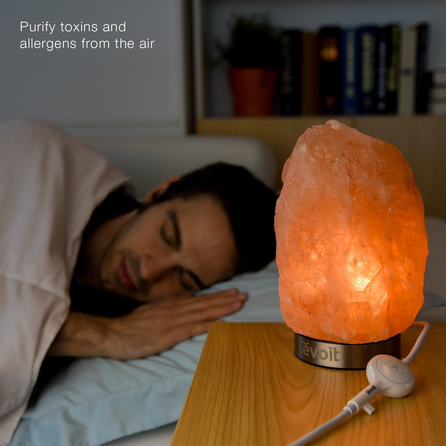 Levoit Natural Himalayan Crystal Salt Lamp