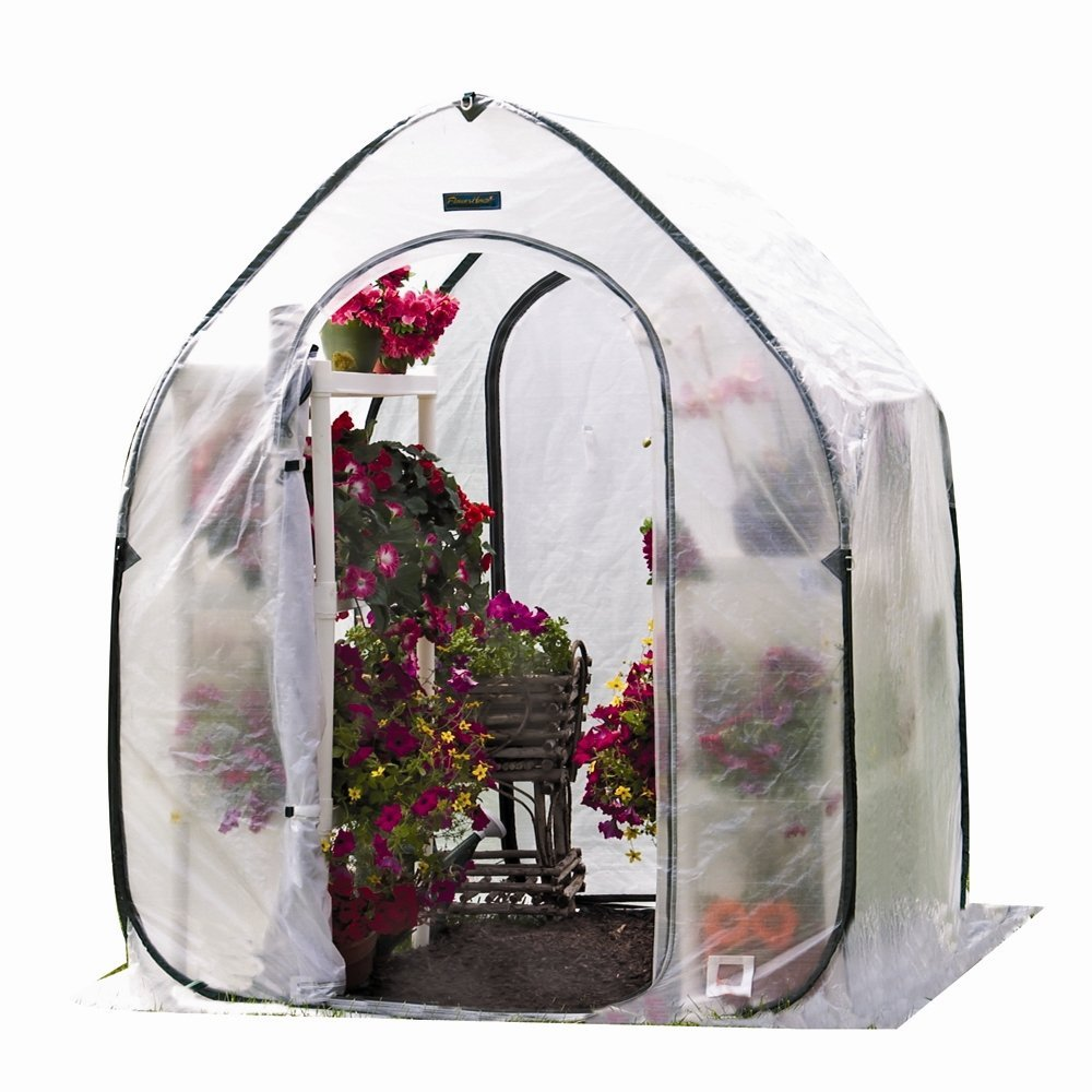 Flower House 5 Pop-Up Plant House, Available in 5 Styles, Quick and Easy Set Up