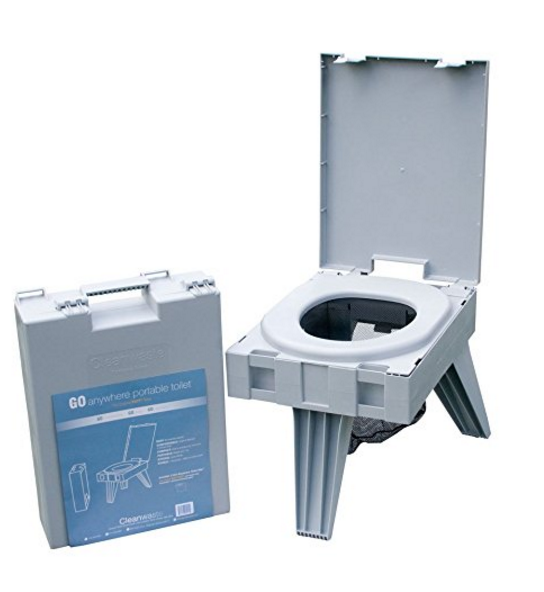 Cleanwaste Portable Toilet System