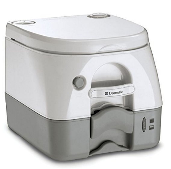 Dometic 2.6 Gallon Portable Toilet – Available in 2 Colors