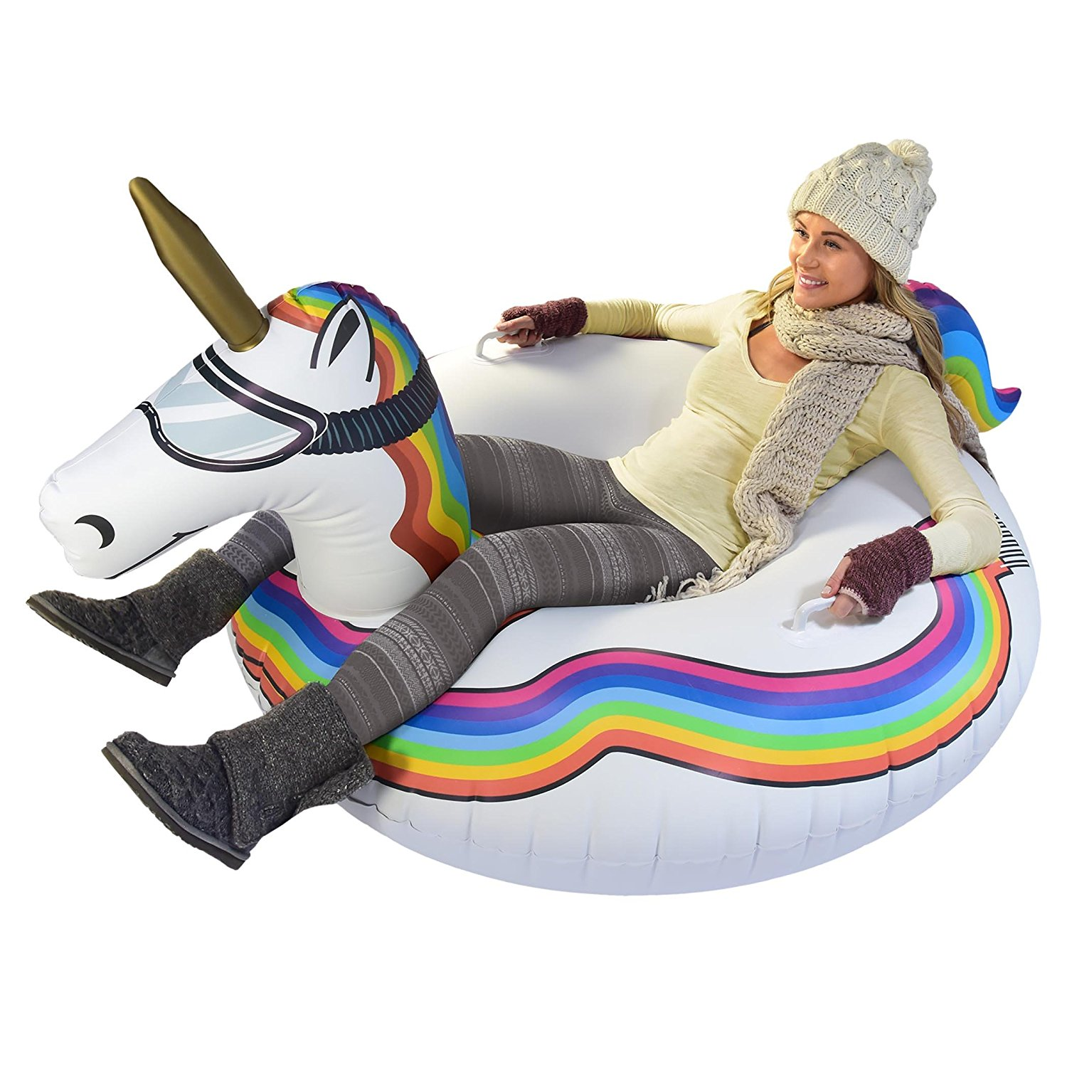 GoFloats Animal Winter Snow Tube