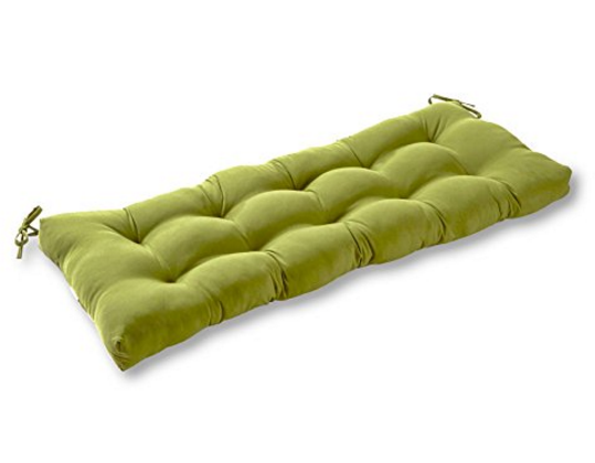 Greendale Home Fashions 44-Inch Indoor/Outdoor Swing/Bench Cushion – Available in 21 Colors