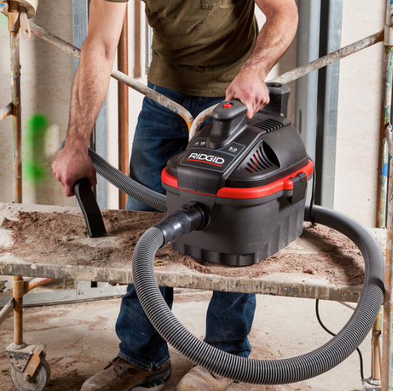 Ridgid Portable Wet/Dry Car Vacuum – 4 Gallon